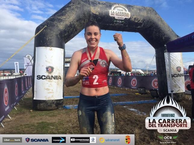 Miriam Araujo ha ganado las ligas de la Farinato's Race en 2017 y 2018 @Miriamaraujog