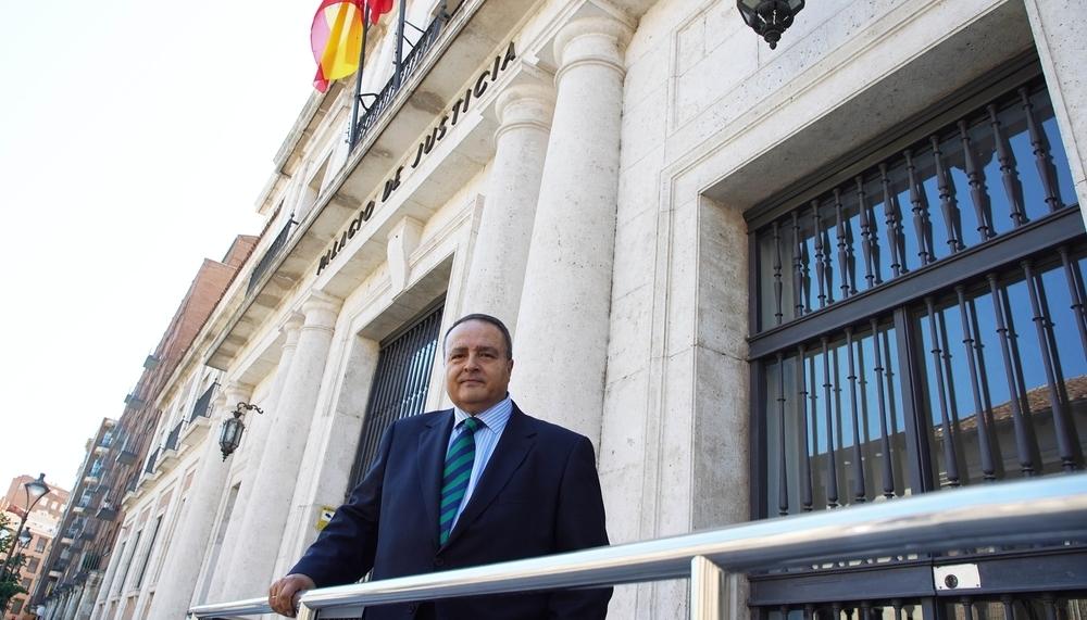 Javier Carranza, presidente de la Audiencia Provincial de Valladolid.
