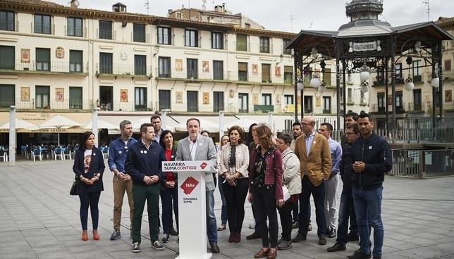"""Esparza quiere dar a la Ribera """"la relevancia que merece"""" Navarra Suma-PABLO LASAOSA"""