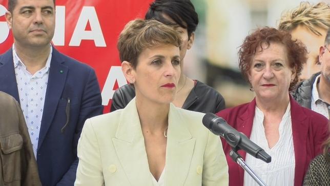 Chivite, en un acto electoral PSN-PSOE