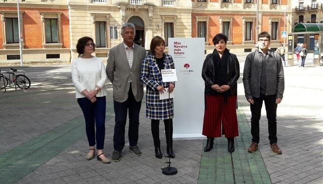 Barkos aboga por mantener la misma dirección que hasta ahora Europa Press