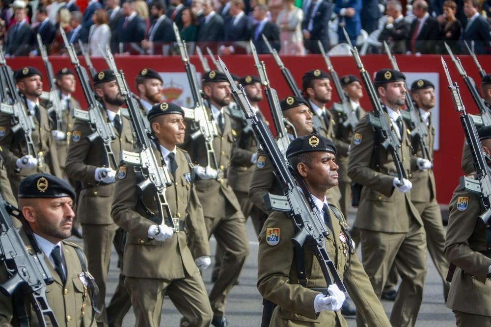 Navarra vuelve al desfile de la Fiesta Nacional