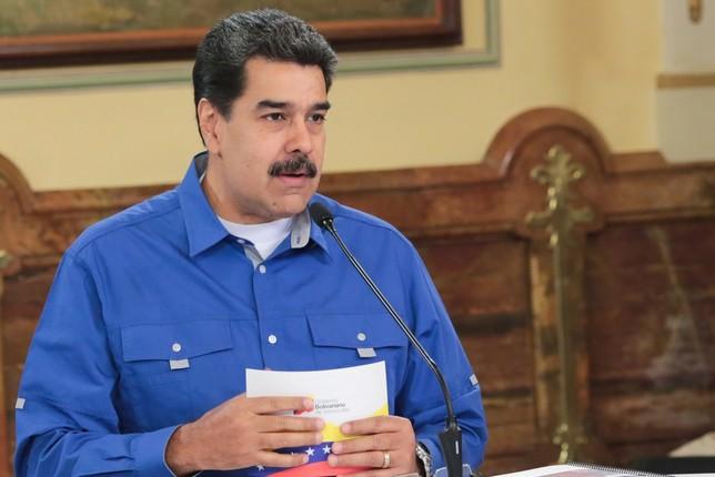 Maduro critica la decisión de Trump de suspender los vuelos HANDOUT