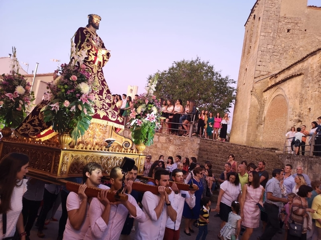 El Nazareno de Almazán ya está en la iglesia del Campanario