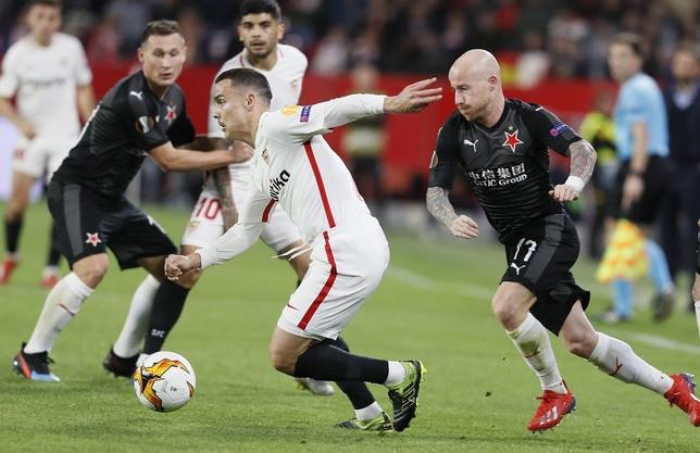 El Villareal domina y el Sevilla flojea