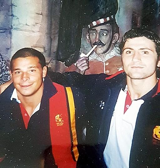 Zarzosa y Mata, en aquel Mundial.