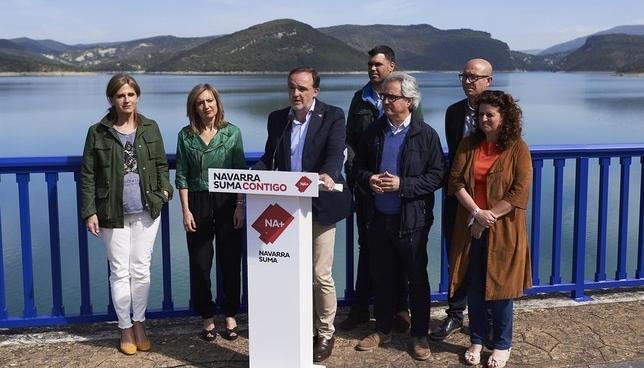 Esparza critica la manera de actuar de Sánchez y Chivite Europa Press
