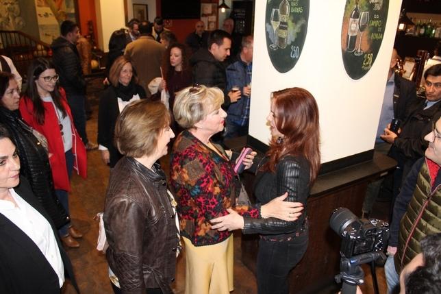 Silvia Clemente se reúne con afiliados de Cs en Segovia