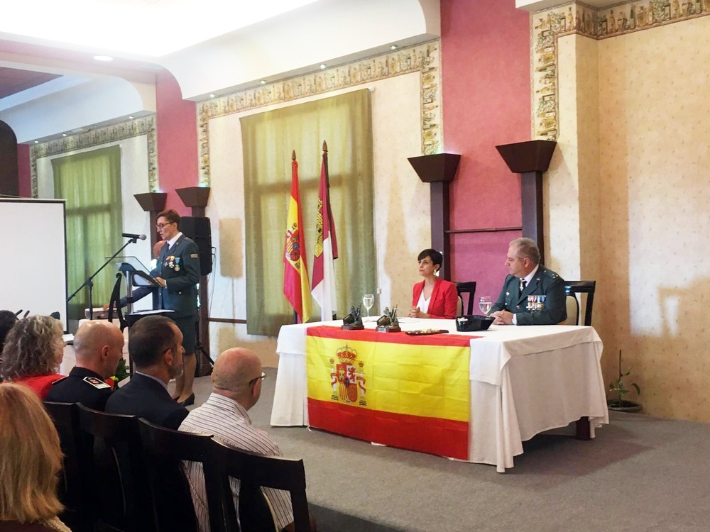 Rodríguez destaca los valores de la Guardia Civil