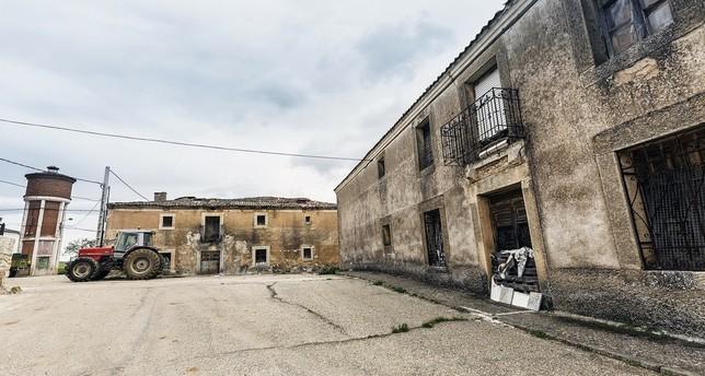 Pajareros, el pueblo más despoblado, con 12 vecinos censados. Rosa Blanco