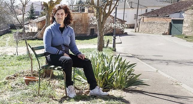 Marisol Montes vive desde hace 14 años en Fresno de la Fuente. Rosa Blanco