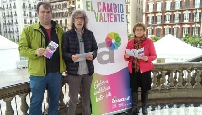 Aranzadi analiza su pérdida de representantes en Pamplona