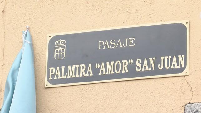 Palmira San Juan ya tiene su pasaje en la antigua Cárcel Lorenzo Aragoneses