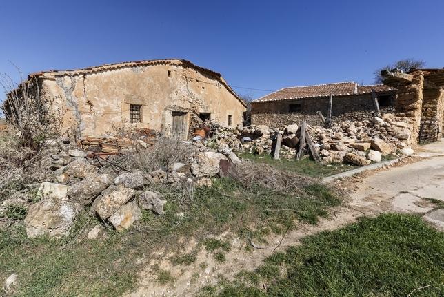 Vivienda de Encinas (Segovia) Rosa Blanco