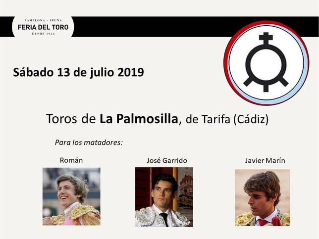 Día 13: Román, José Garrido y Javier Marín