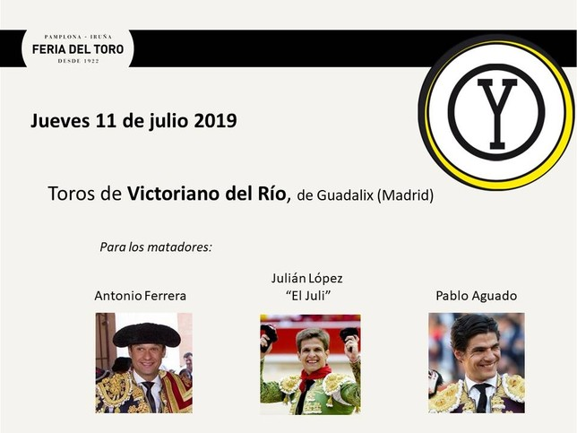 Día 11: Antonio Ferrera, El Juli y Pablo Aguado