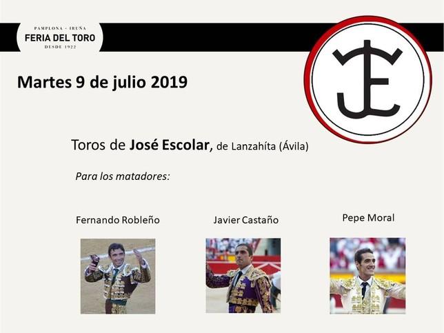 Día 9: Fernando Robleño, Javier Castaño y Pepe Moral