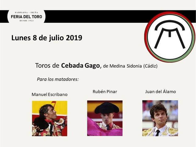 Día 8: Manuel Escribano, Rubén Pinar y Juan del Álamo