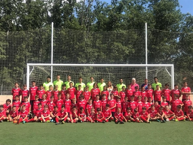 Inscripciones abiertas para el campus de fútbol de La Granja