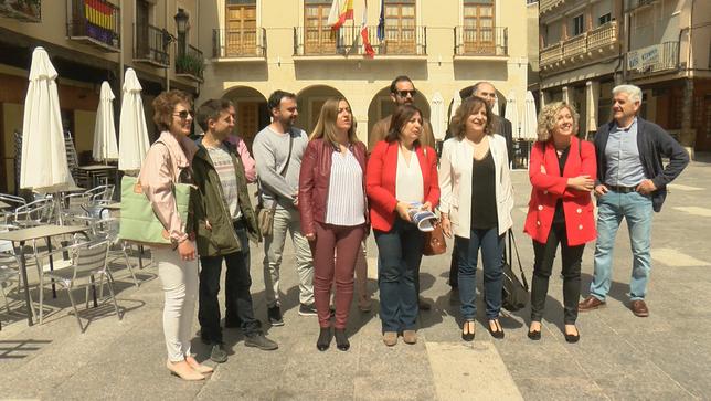 Iratxe García valora en San Esteban los fondos de la UE