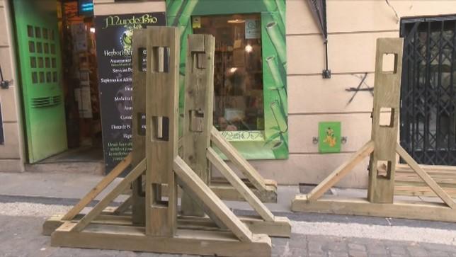 El lunes comienza el montaje del vallado de San Fermín