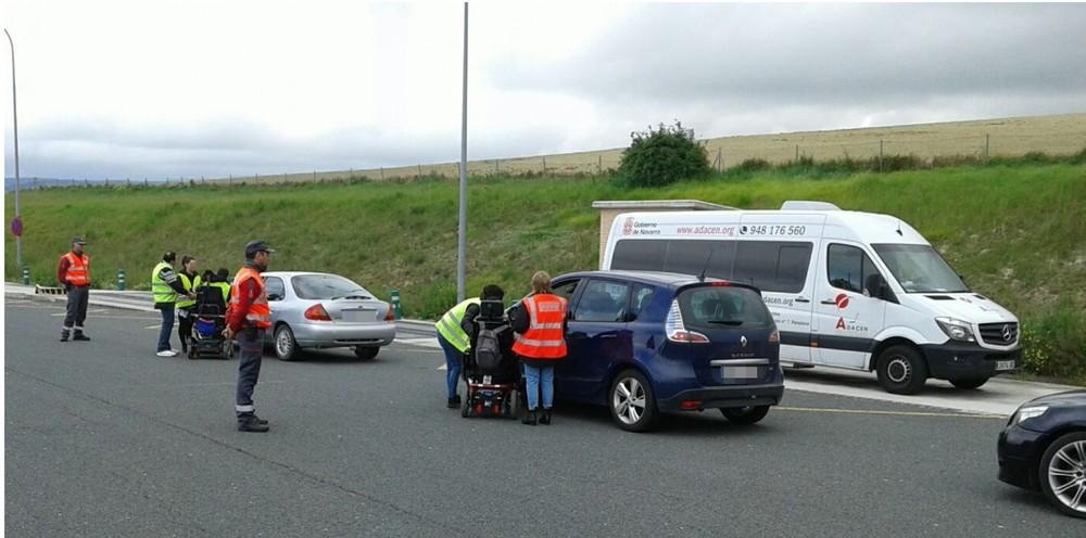Policía Foral y ADACEN, juntos por el bien del conductor