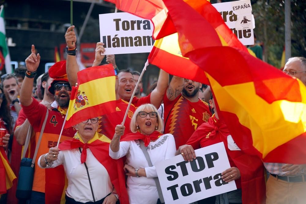 El constitucionalismo une fuerzas en Barcelona