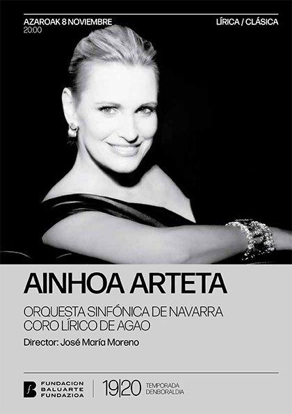 Ainhoa Arteta trae a Pamplona