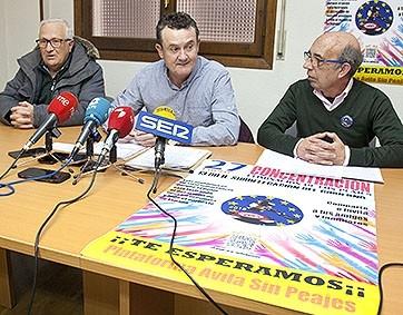 Ávila Libre de Peajes se presentará a las municipales