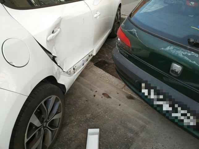 Buscan al autor de los daños en coches de la avenida de Irún