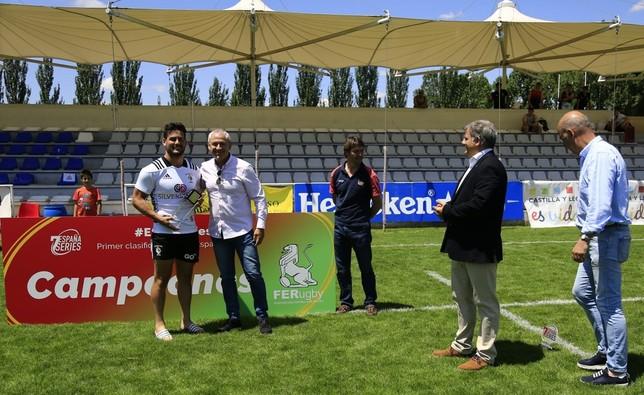 Bera Bera vencedor de las España 7s Series de Valladolid