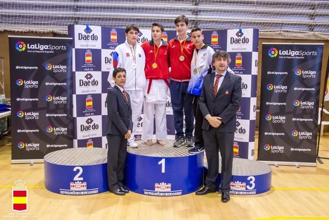 Catorce medallas son para los toledanos Jose M.Rodriguez Martin