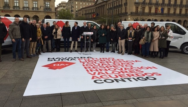 "Navarra Suma arranca campaña electoral ""en positivo"" Navarra Suma"