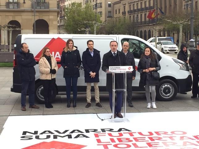 """Navarra Suma arranca campaña electoral """"en positivo"""""""