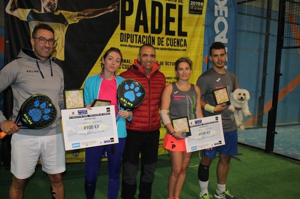 Los hermanos Morena se llevan el circuito de Pádel de Cuenca