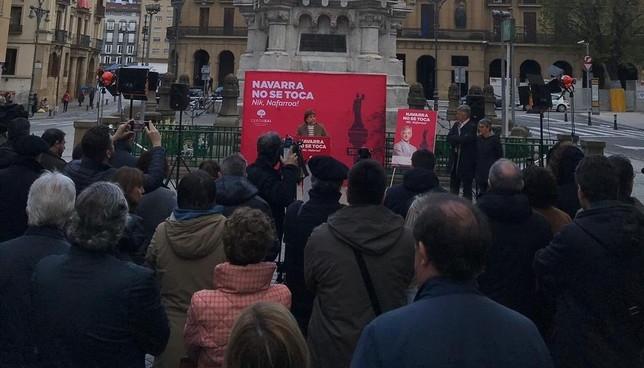 Geroa Bai inicia campaña reivindicándose como voz necesaria Geroa Bai