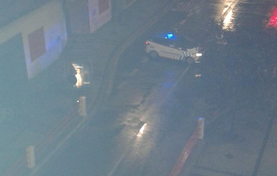 La Policía Local desaconseja usar el coche por las lluvias