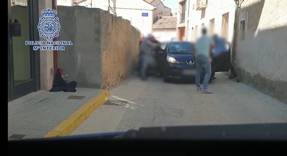 Detenidos en Bernuy dos peligrosos atracadores de bancos