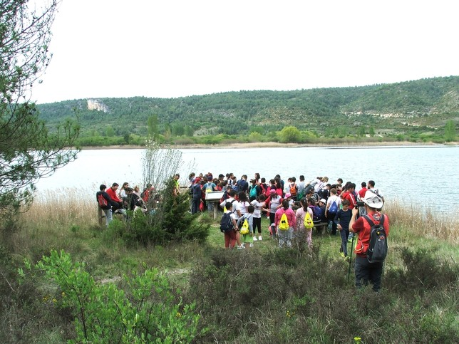 Mil alumnos asisten al programa Somos Deporte de Senderismo