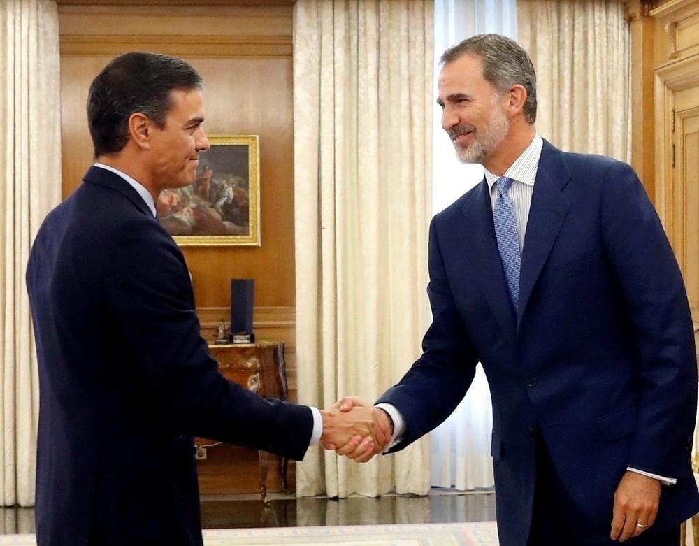 El Rey decidirá el miércoles si propone a Sánchez