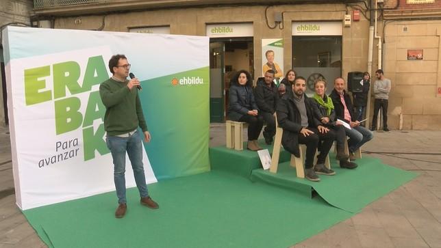 EH-Bildu arranca campaña con el lema 'Erabaki. Para avanzar'