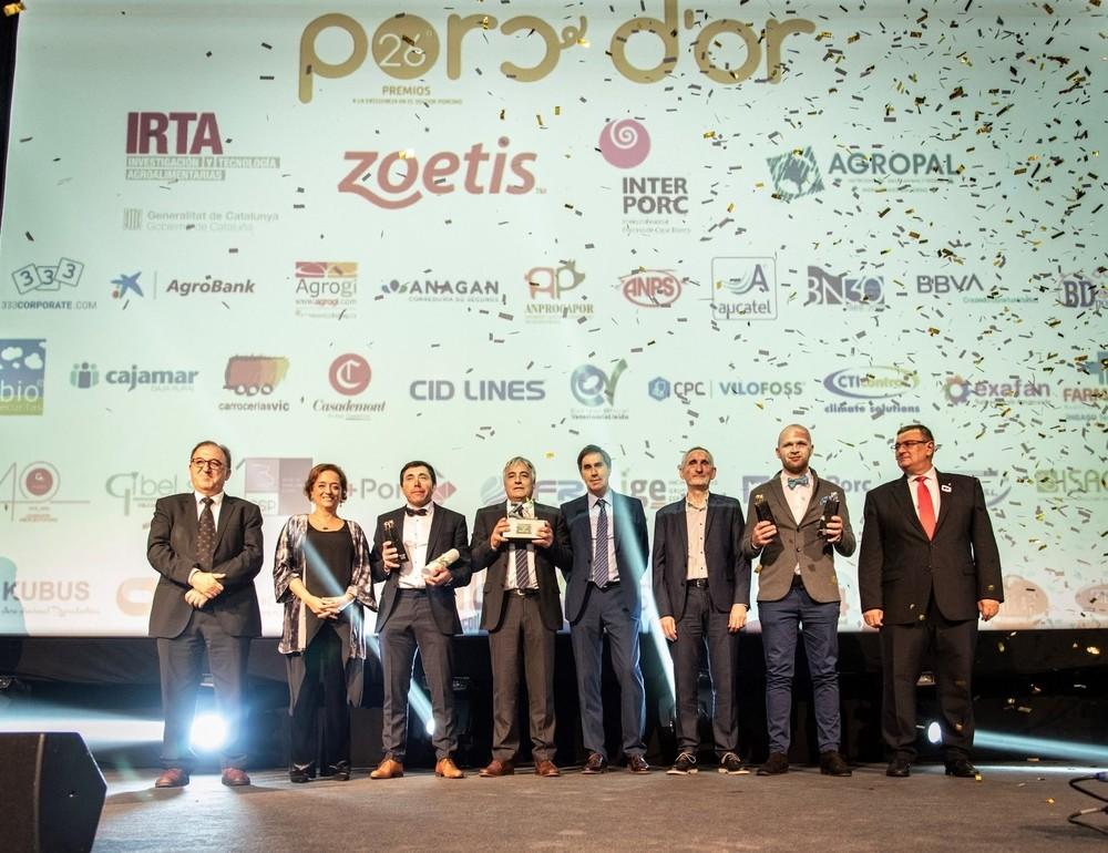 Una granja de Segovia, reconocida en los premios Porc d'Or