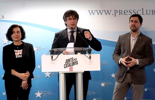 La Justicia permite a Puigdemont concurrir a las europeas Yves Herman