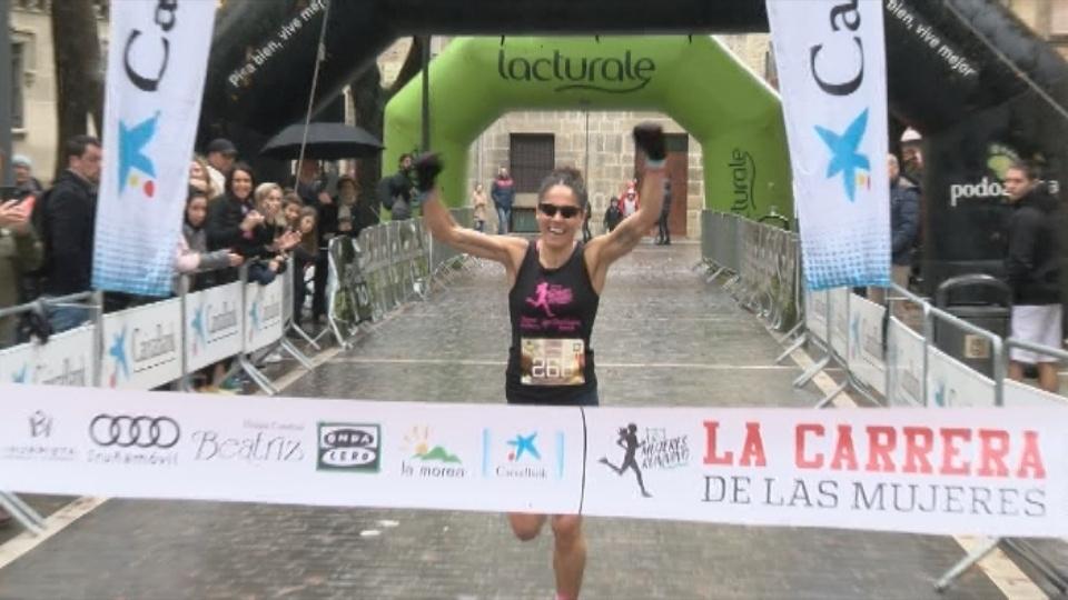 Inma Sáinz se impuso en la distancia de 11'5 kilómetros