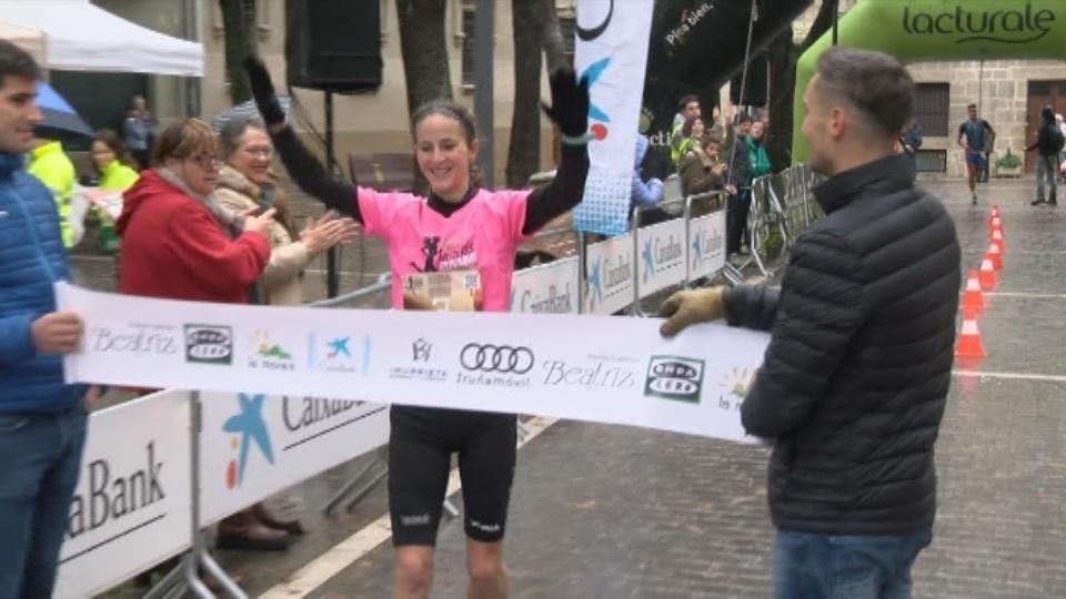 Ana Llorens fue la más rápida en la distancia corta de 5'75 kilómetros