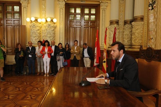 Rueda de prensa de Óscar Puente J.T.