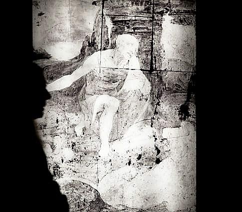 Reflectología de un trabajo de Da Vinci.