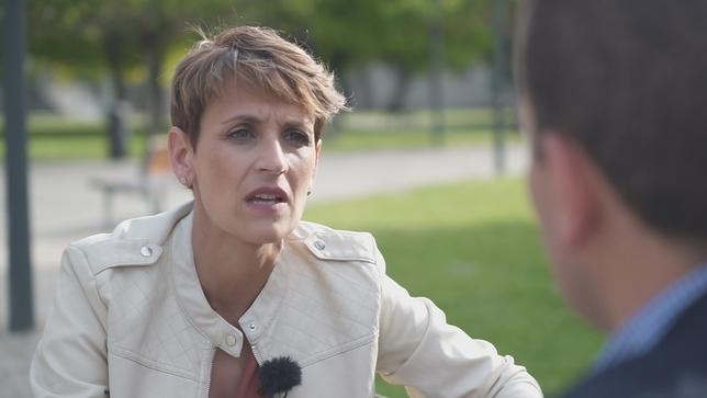María Chivite, en 'Si yo presidiera Navarra' NATV