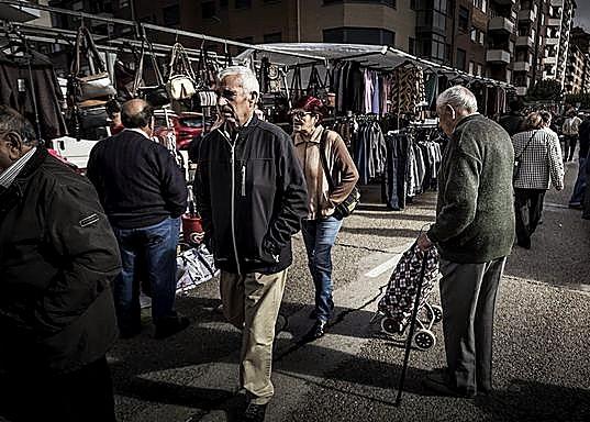 Almazán, 80 puestos en un mercado con muchos veteranos