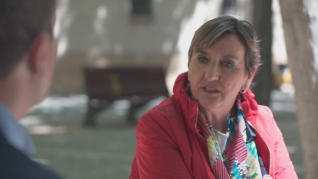 Marisa de Simón, en 'Si yo presidiera Navarra' NATV